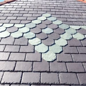 Available types of slate roof tiles 5 star roofs for Type of roof tiles
